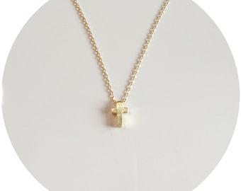 Stubby Cross Necklace