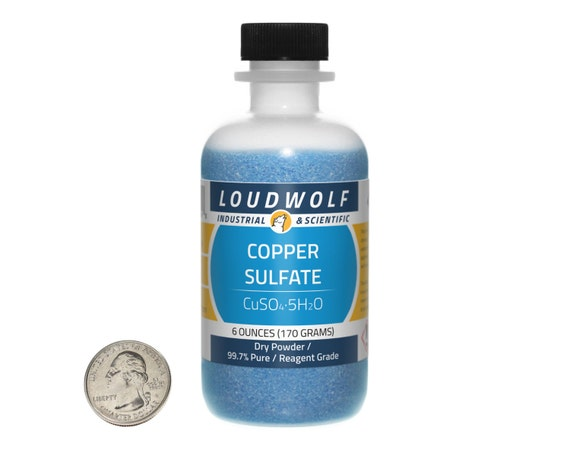 how to make copper sulfate solution from powder