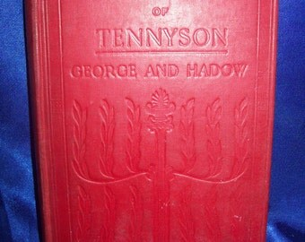 Select Poems of Tennyson, printed in 1908