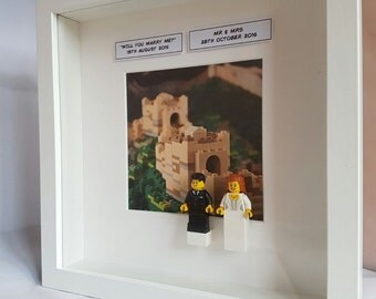 Lego Frames, Engagement, Wedding and Anniversary