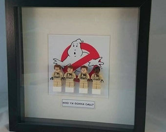 Framed Ghostbusters minifigures