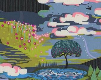 Starry Eyed in Bark - Anna Maria Horner fabric