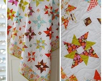 Starflower pattern by The Pattern Basket