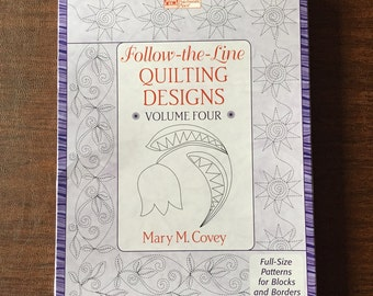 Follow-the-lines quilting designs, Volume IV