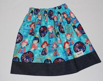 Reversible Skirt Geisha/Birdcage Size 7