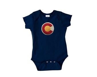 Colorado Flag Infant Bodysuit Onsie