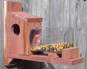 Cedar Squirel feeder