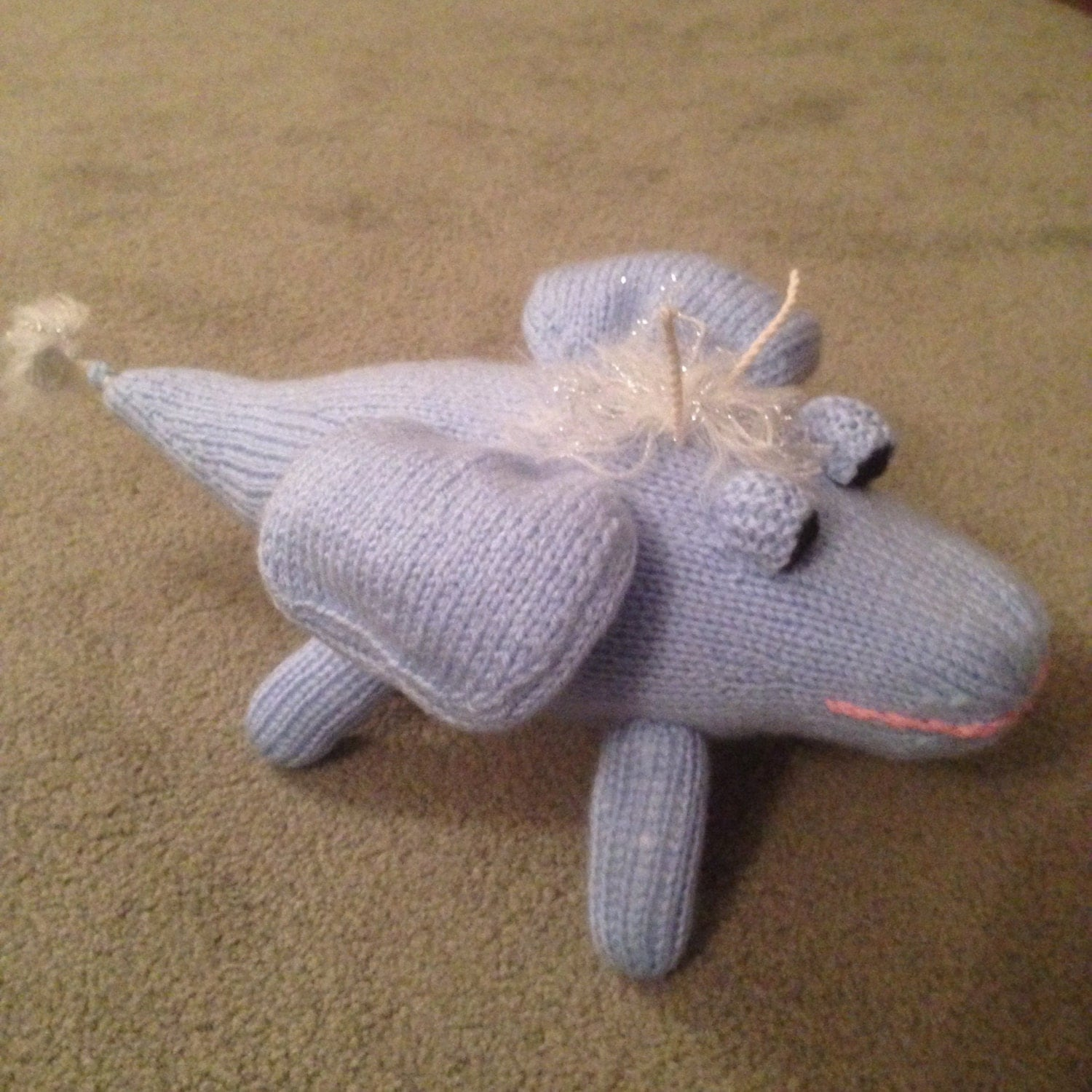 Knitting Pattern For Clangers : Knitting Pattern Inspired by the Skymoo on the BBC Programme