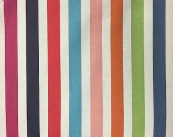 Stripes - Multi Colored Stripes by Dear Stella - Fabric by the Half Yard