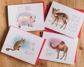 Special order for Brenda - complete set of Valentine's cards