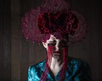 Headdress - Crimson Crown