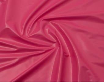 Hot Pink Vinyl Fabric