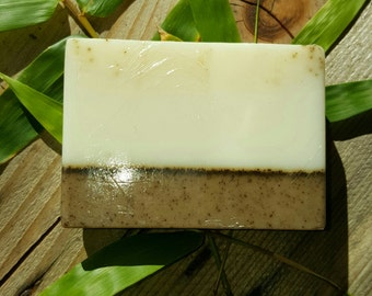 Coffee Soap. Goat Milk Soap.