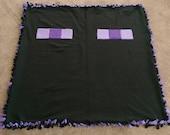Double Layer Minecraft Enderman Blanket
