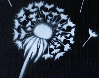 Dandelion Graffiti Painting