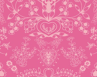 Essentials II by Pat Bravo for Art Gallery Fabrics - Floralism Blush - Cotton Woven Fabric