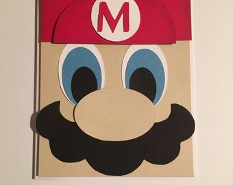 Mario Invitations set of 10 **New Pricing**