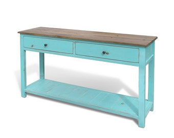Console Table, Occassional Table, Media Console, Reclaimed Wood, Coffee Table