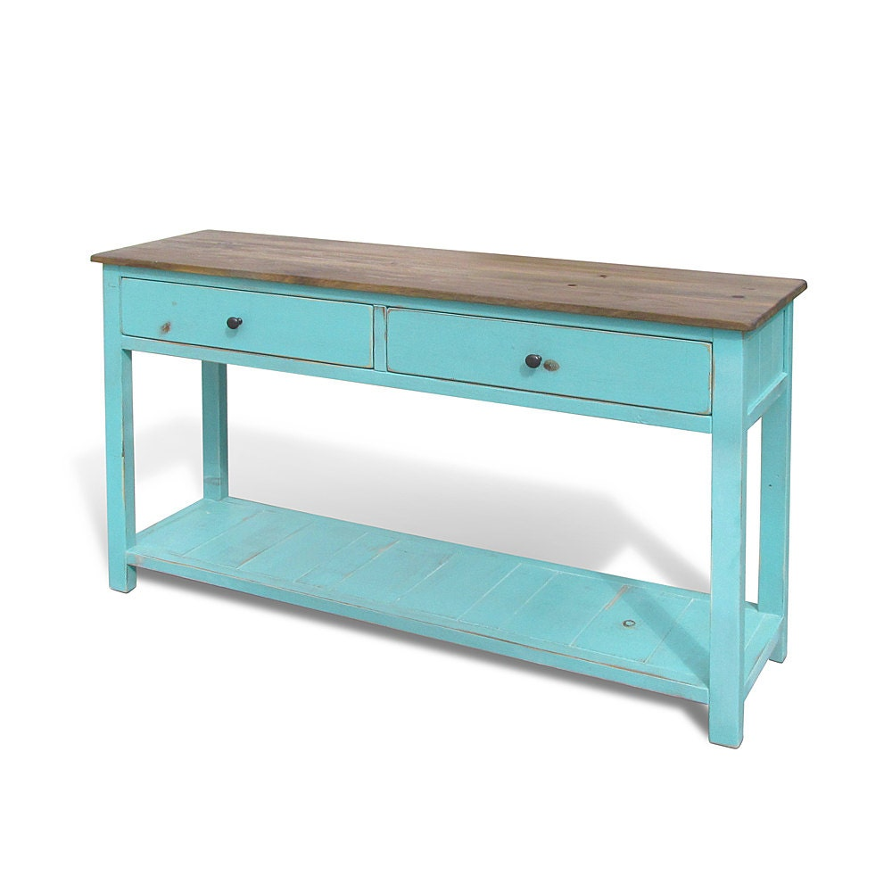 Console table occassional table media console reclaimed for 10 deep console table