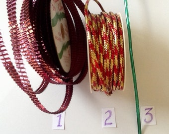 Corded & Wire Package Ribbon