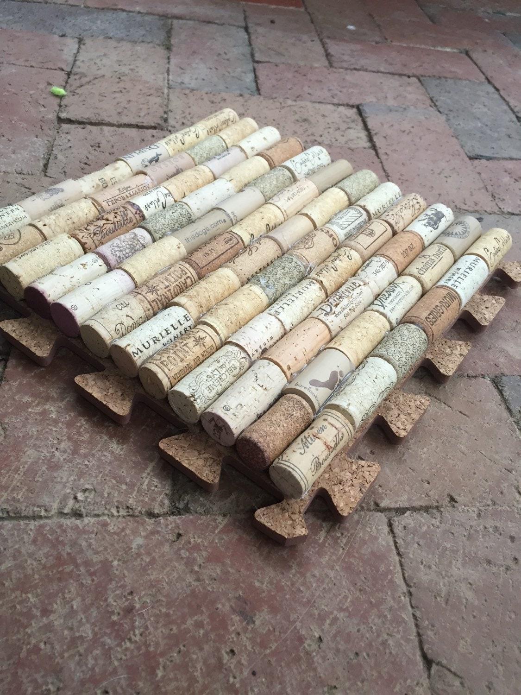 Puzzle Piece Cork Welcome Bath Kitchen Bar Mat