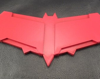 Armored Red Hood Bat Logo for Cosplay