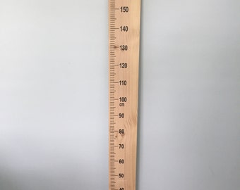 Oversized Ruler for Growth Height Chart