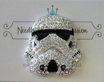 Storm Trooper Helmet Needle Minder