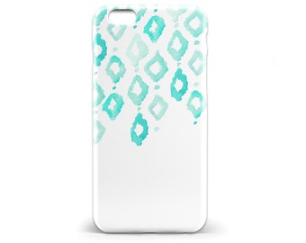 1416 // Blue Watercolor Geometric Phone Case iPhone 5 5S, iPhone 6 6S, Samsung Galaxy S5, Samsung Galaxy S6, Samsung Galaxy S7 Edge Plus