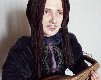 OOAK Art Doll Serenade