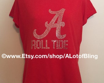 Alabama Rhinestone T-Shirt
