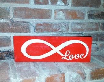 Infinity Love Sign