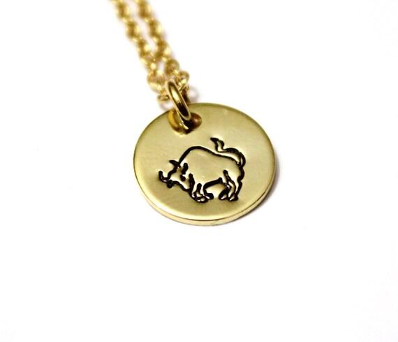 Taurus Constellation Necklace: Taurus Sterling Silver Constellation Necklace Taurus Zodiac