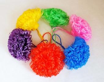 Choose your color, WASHCLOTH - 100% polypropylene, handmade washcloth, wash cloth, crochet washcloth, hostess gift, bath and body wash cloth
