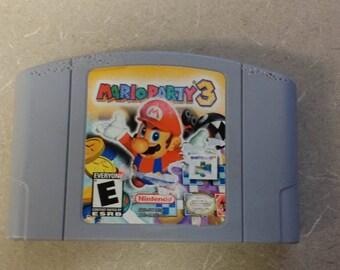 Mario Party 3 N64 Nintendo 64