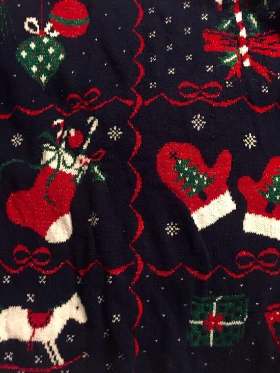 UGLY Christmas Oversized Sweater
