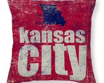 THROW PILLOWS - Kansas City