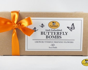 Butterfly Bombs - wildflower seed balls for butterflies