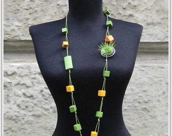 Funny Necklet, Upcycled Jewelry