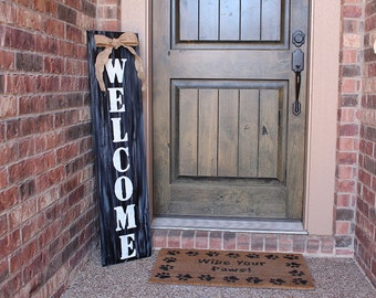 Front Porch Sign  |  Welcome Sign for Front Porch  |  Welcome Sign for Front Door  | Welcome Sign  |  Front Porch Sign  |  Housewarming Gift