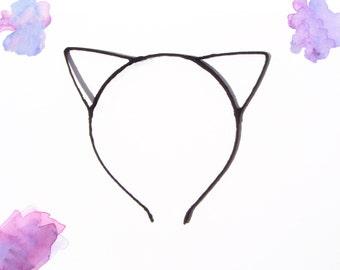 Black Cat Ears Headband