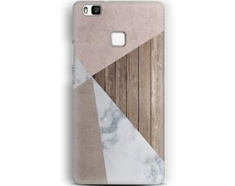 Huawei P9 Lite Case Wood Marble Huawei P9 Case Huawei P8 Case Huawei P8 Lite Marble Case Wood Phone Case Marble Phone Case