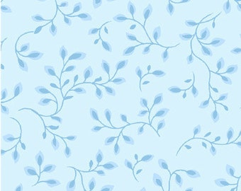 "Blue Quilt Backing Fabric / 108"" Folio by Color Principle for Henry Glass 7882 / 108"" Inch wide Fabric / Wide Backing Yardage"