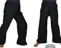 Thai Fisherman Pants Wrap Pants black