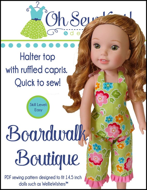 Oh Sew Kat! – Fashion Trends for Dolls & their Friends; PDF Sewing ...