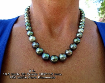 Balck Pearl Necklace