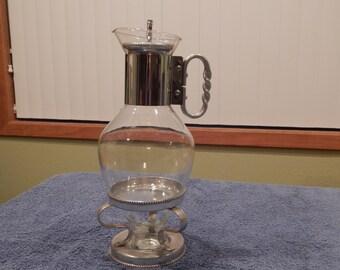 Corning Coffee Pot with Warmer