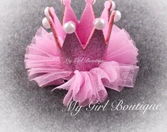 Ready to Ship Mini Glittery Birthday Girl Party Hat First Birthday, baby, Birthday, cake smash,  1st birthday, baby girl birthday