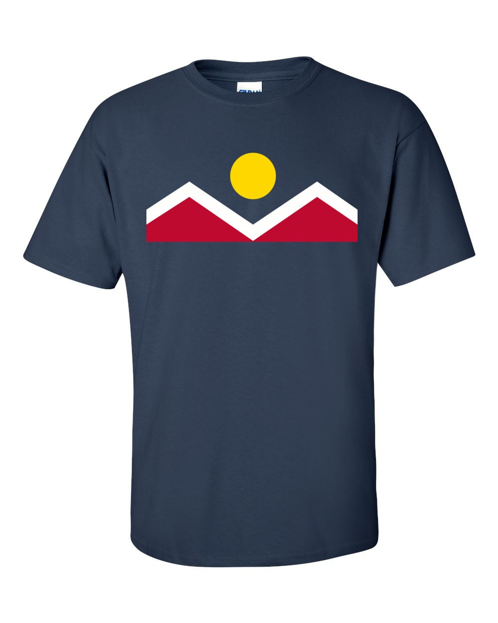 Denver T-shirt - Denver Colorado City Flag - Denver T-shirt