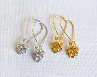Sakura Flower Earrings